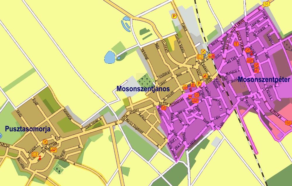 jánossomorja térkép Jánossomorja   Kisalföldi Kommunális Hulladékgazdálkodási  jánossomorja térkép